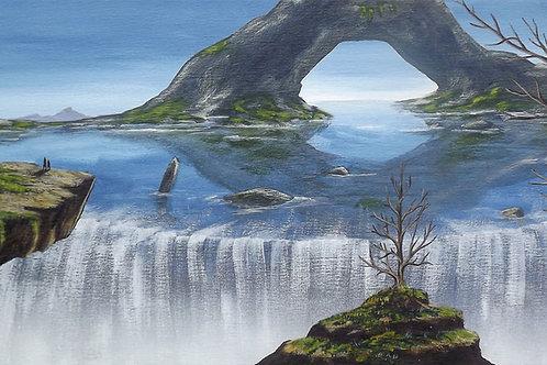 Edge of the Forbidden Sea (PRINT) by Ben Yockel