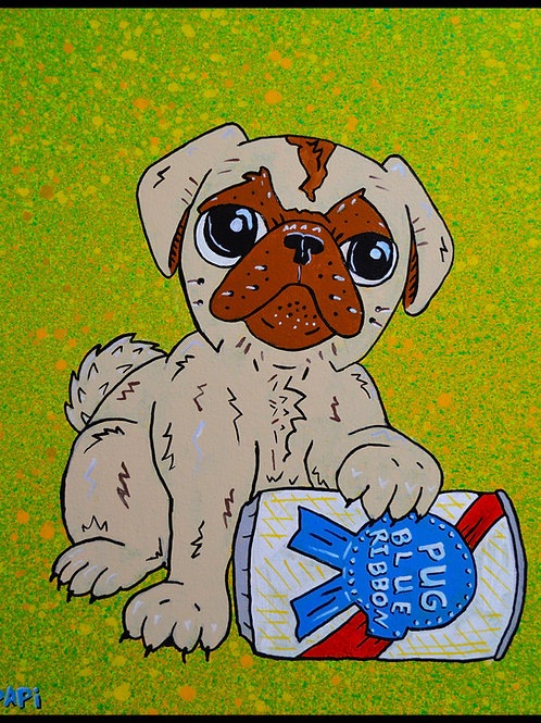 PBR Dog by Eric Papineau
