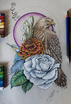 Birds _ Flowers - 2016 - web