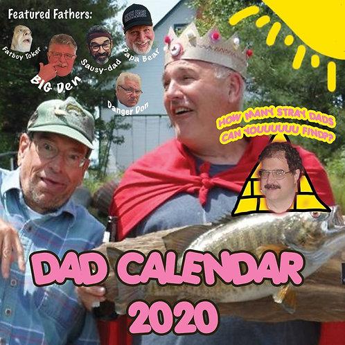 DAD CALENDAR (2020)