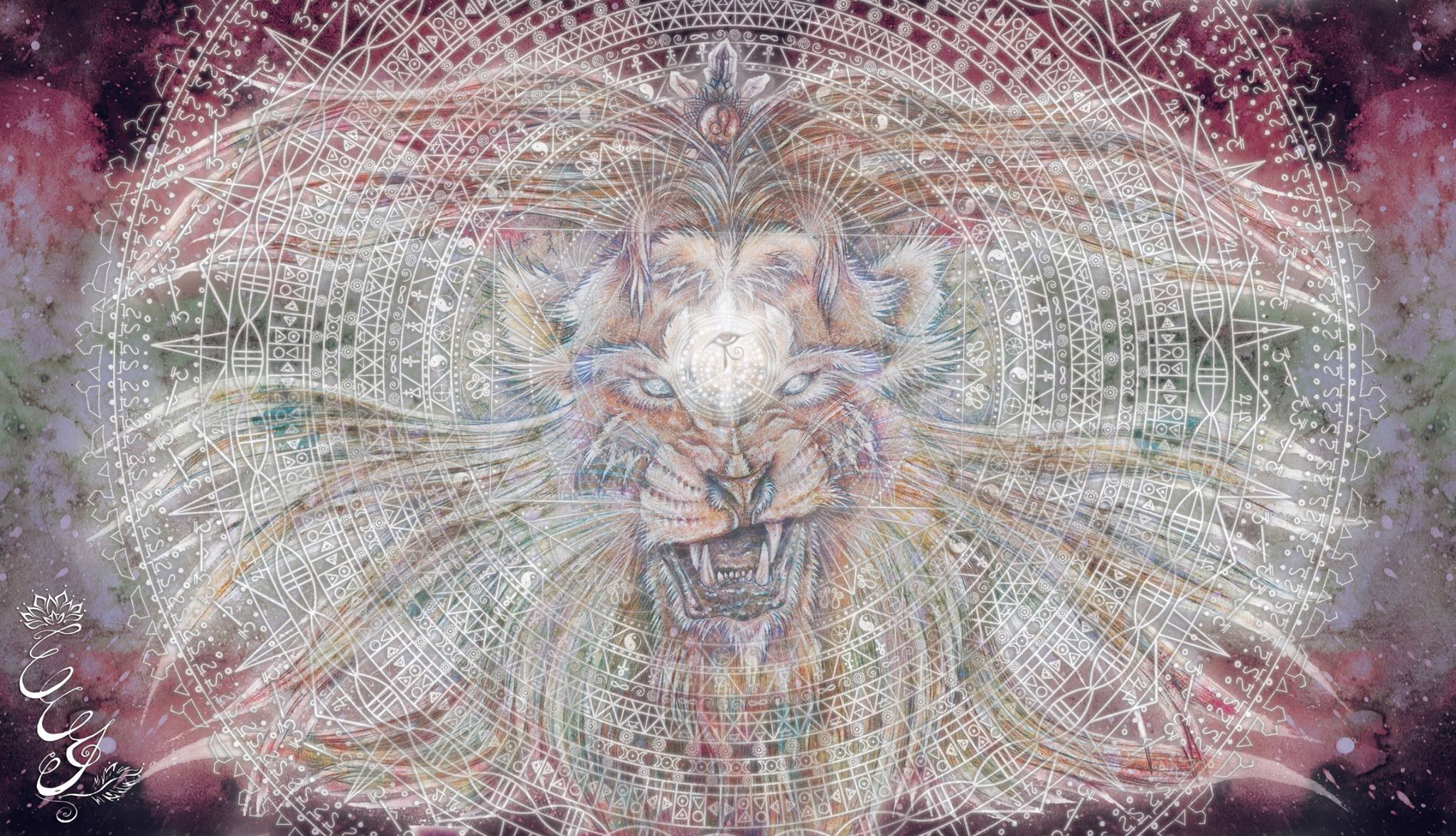 Lion Mandala for Le Lion's Predatour - 2015 - web