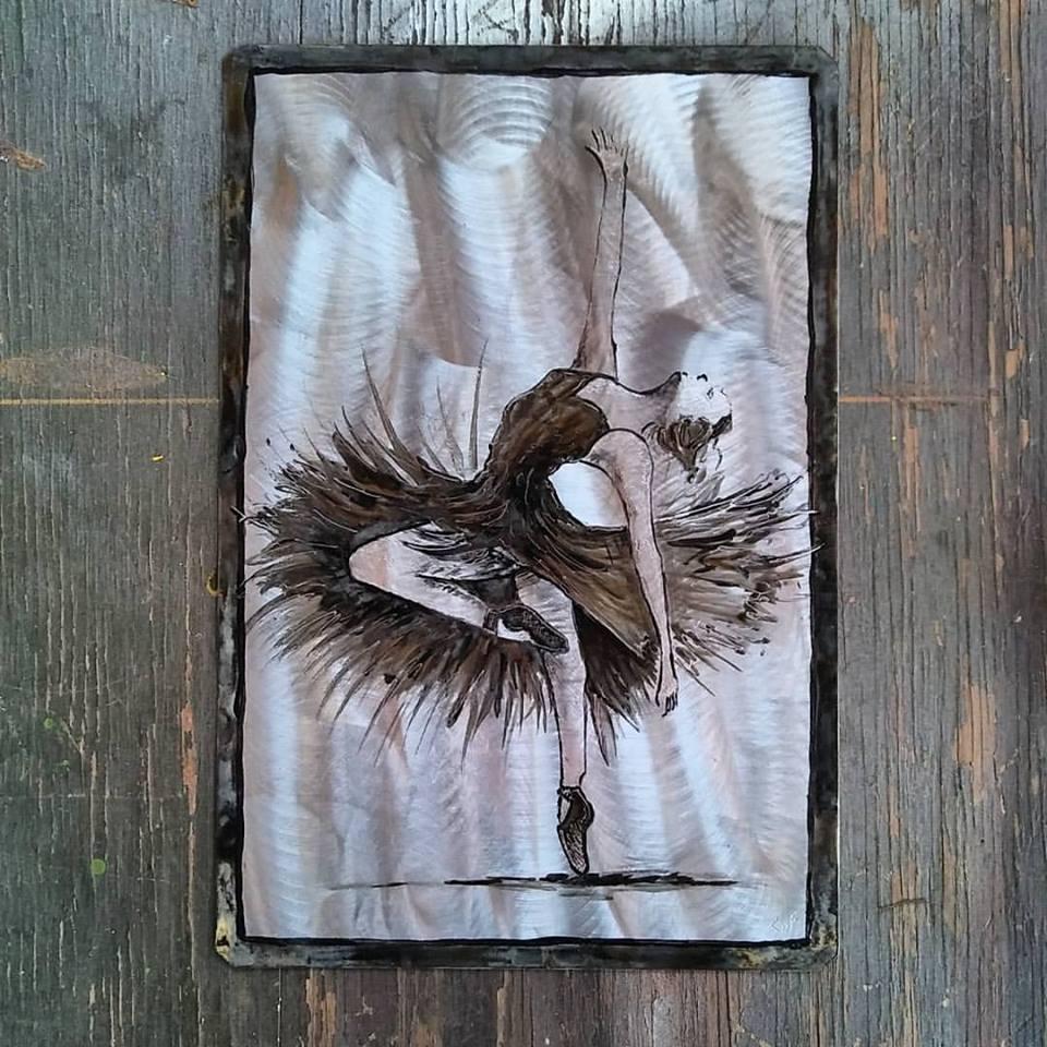 Swan $40.00 16.5x11