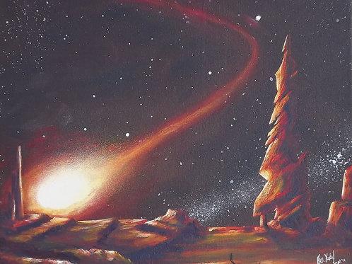 Beyond the Great Unknown (PRINT) by Ben Yockel
