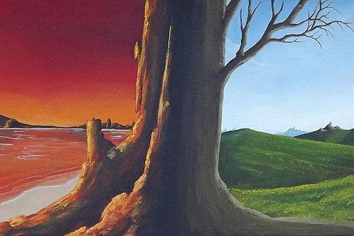 Between Two Worlds (PRINT) by Ben Yockel