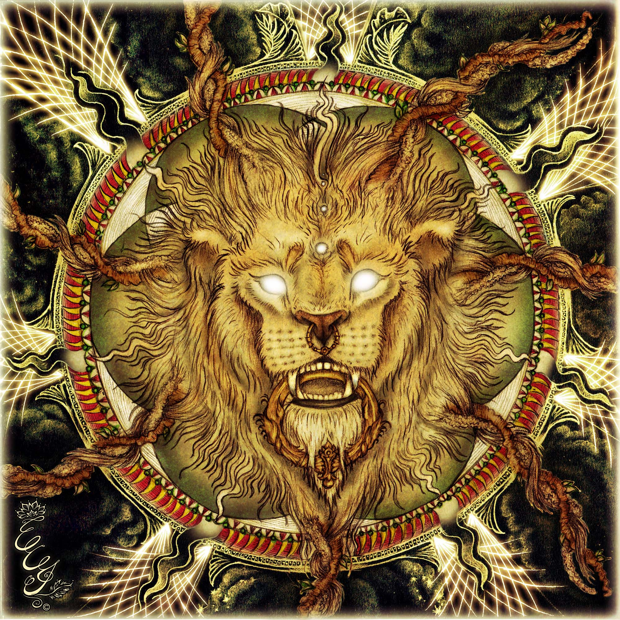 Lion Roots for Ptah EP by Le Lion - 2015 - web