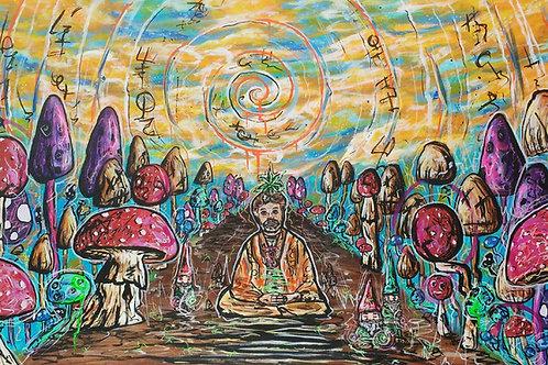 Shamanistic Explorer by Aaron Raybuck (Original)