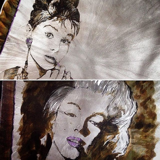 Audrey and Monroe Portraits