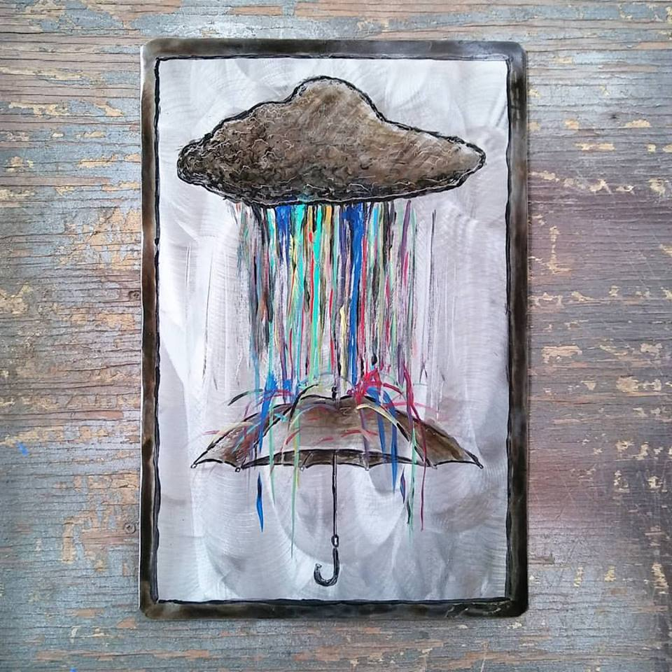 Beautiful Rain $40.00 16.5x11