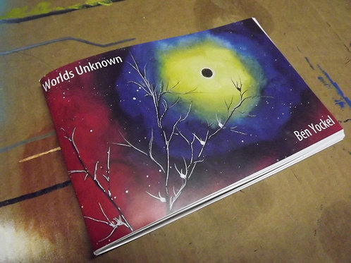 Worlds Unknown Art Book
