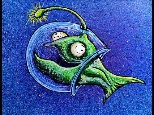 Space Fish by Eric Papineau