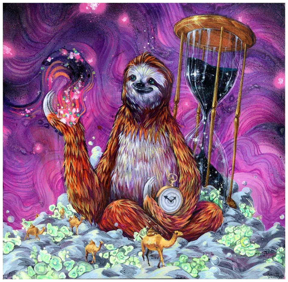 TIme Master Poop Sloth_web