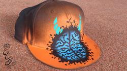 Orange brain cap - 2013 - web