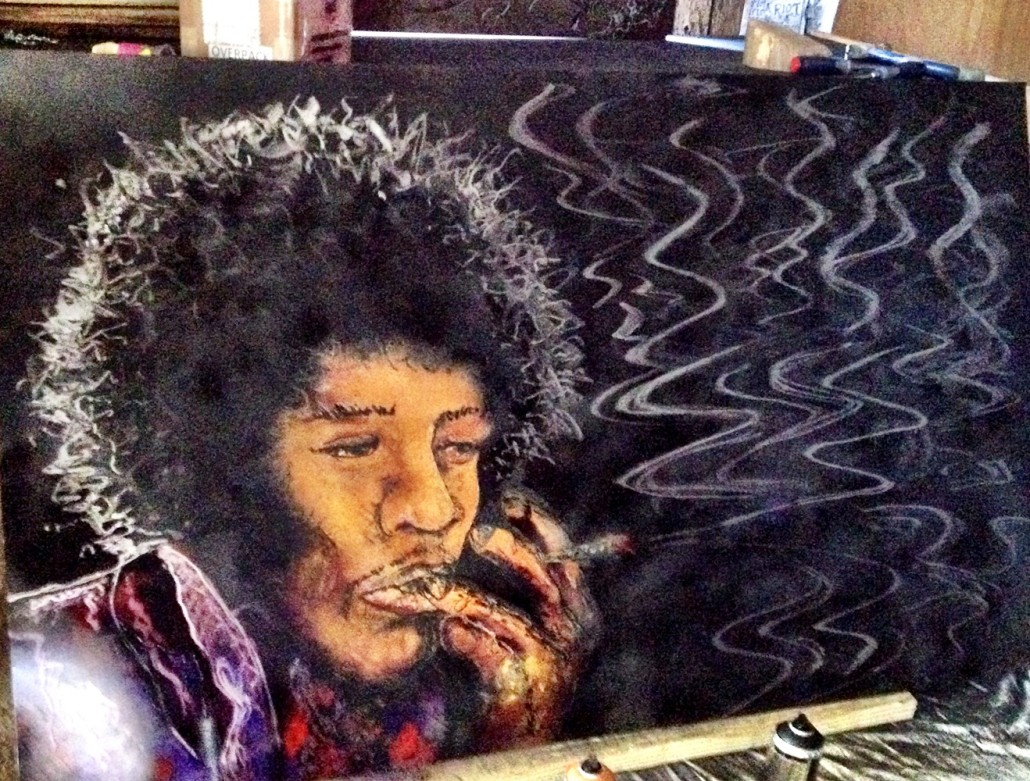 Smoking Jimi Sold