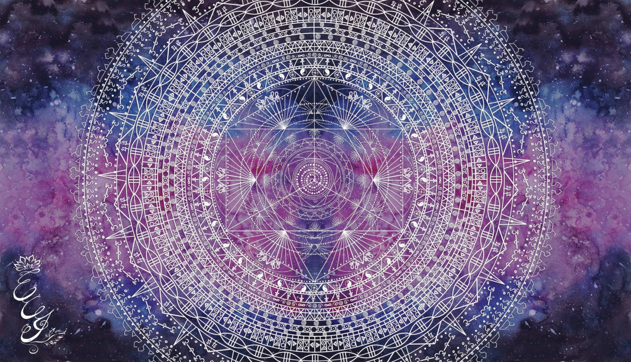 Alchemy mandala for Le Lion's Predatour - 2015 - web