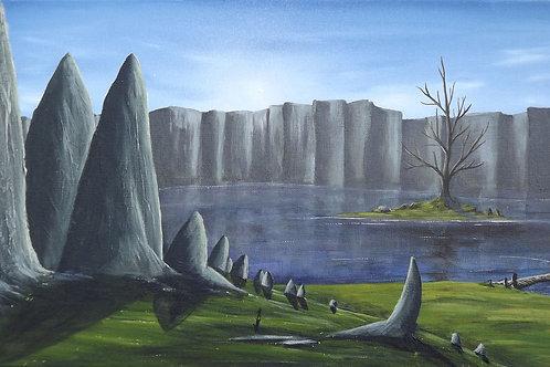 Tale of a Young Swordsman (PRINT) by Ben Yockel