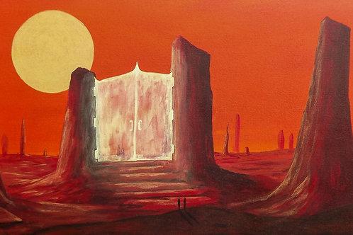 Hell Hath No Fury (PRINT) by Ben Yockel
