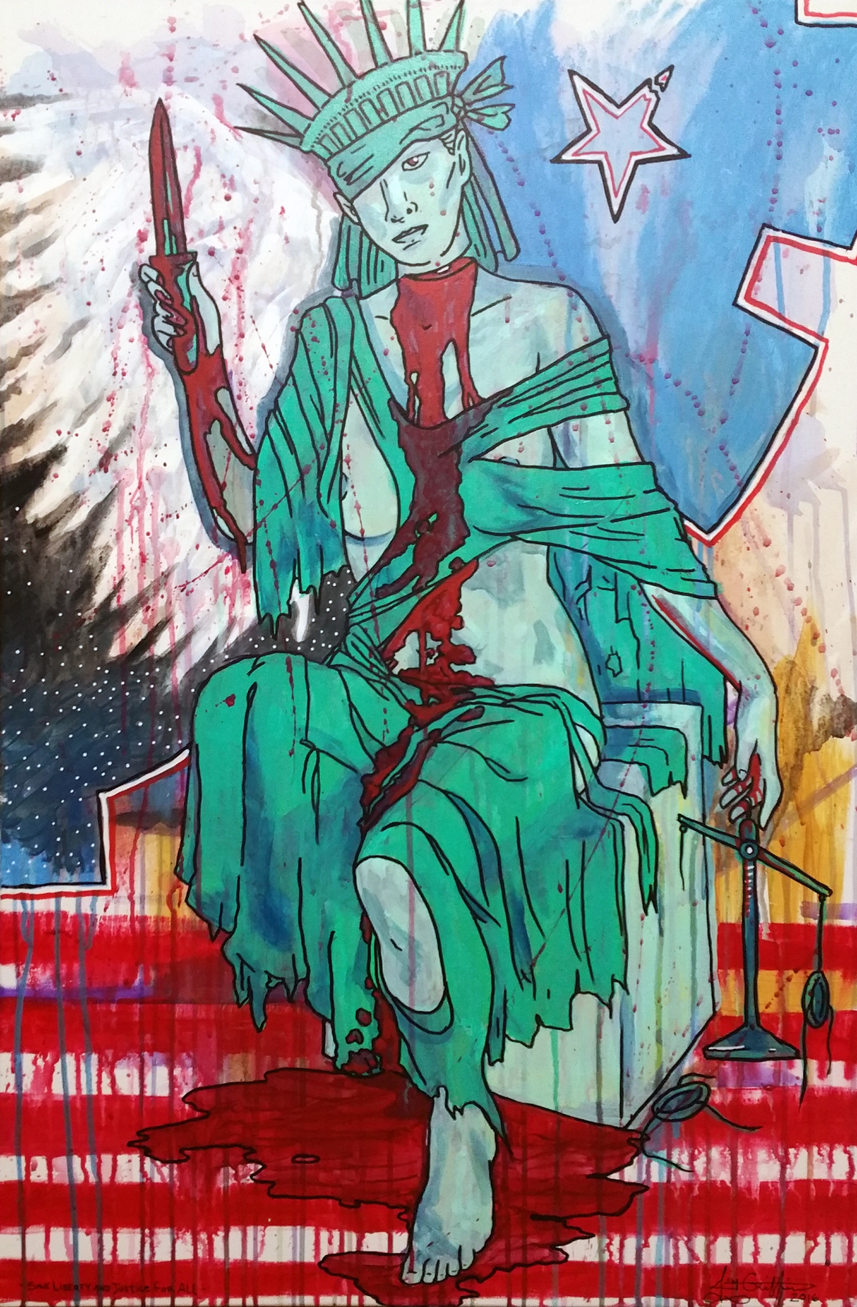 Justice For Liberty sold