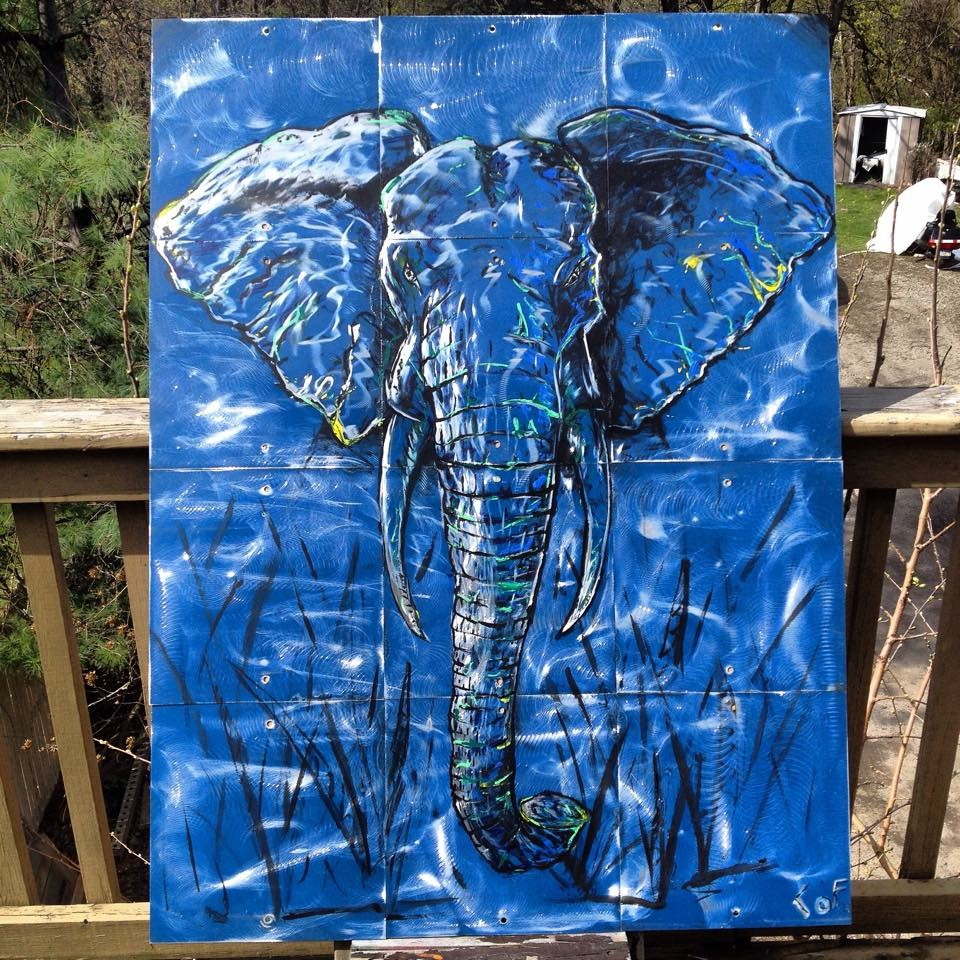 Blue Elephant Sold