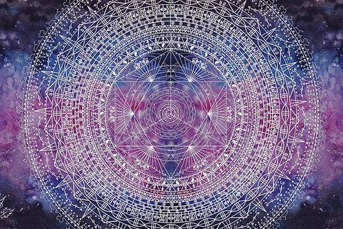 Alchemy Mandala by Elise De Jager