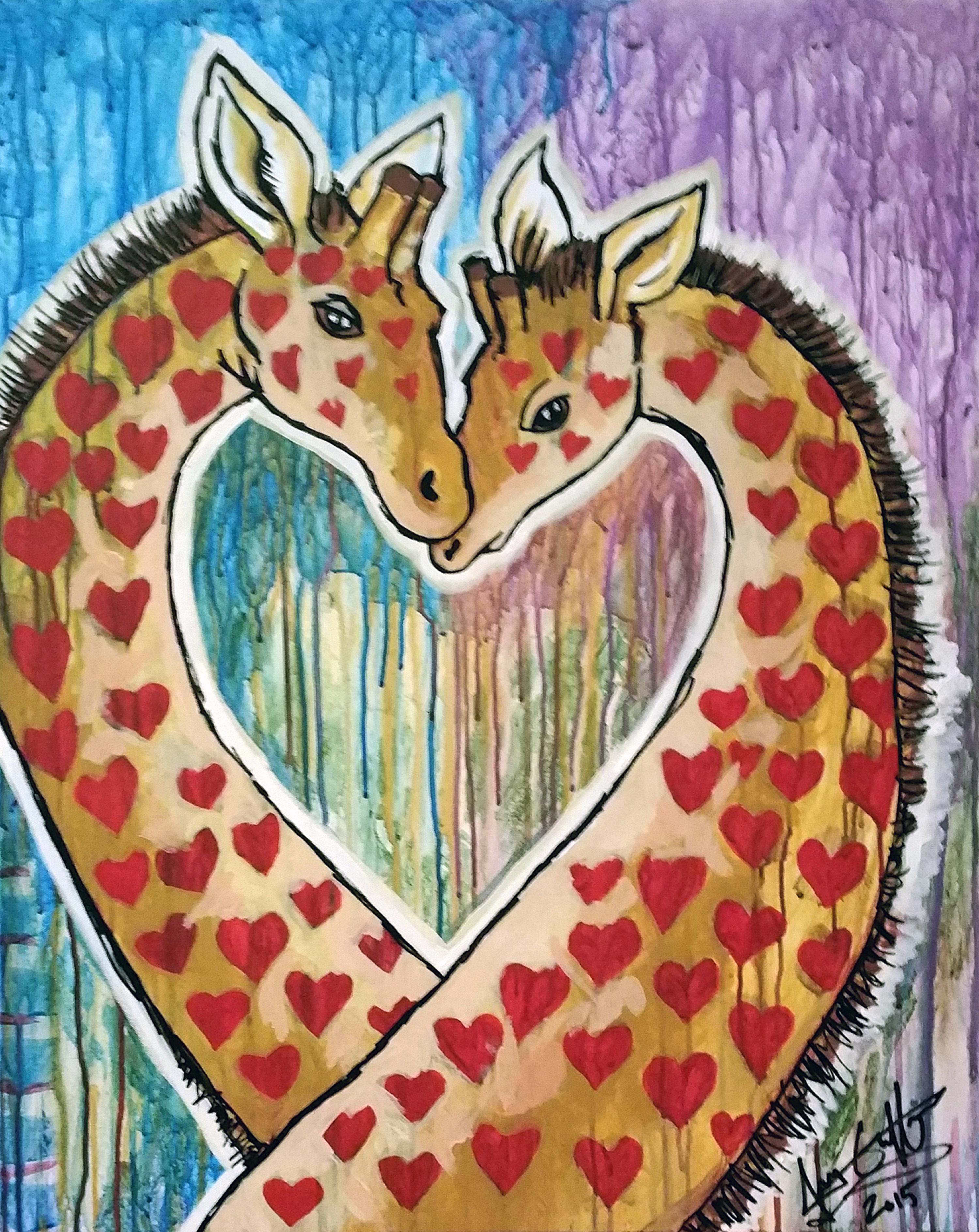 Giraffes 1 sold
