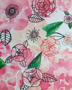 Floral 2 sold