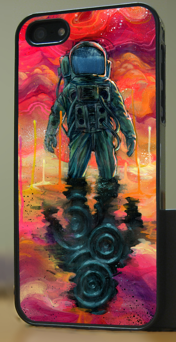 Spaceman iphone 5 preview