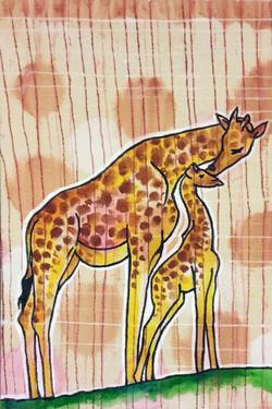Giraffes 3 sold