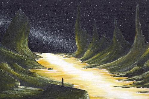 Luminous River (PRINT) by Ben Yockel