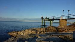 Pêcheur sur le quai