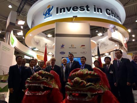 Invest in China auf der Hannover Messe 2016 - Hannover 25.04.2016