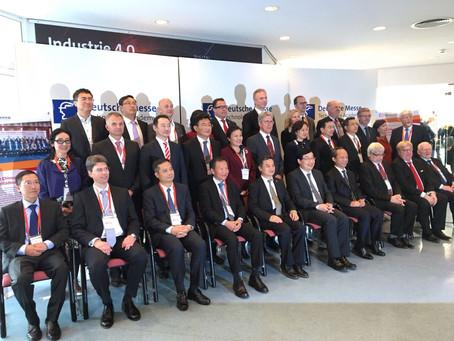 Fünfte Vollversammlung der Chinesisch-Deutschen Industriestädteallianz, Hannover, 23.04.2018