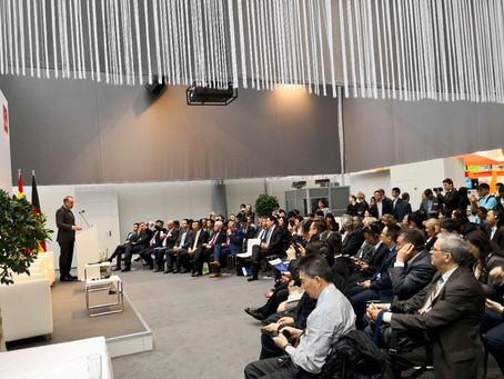 Chinesisch-Deutsches Kooperationsforum für intelligenten Produktion, Hannover, 23. April 2018