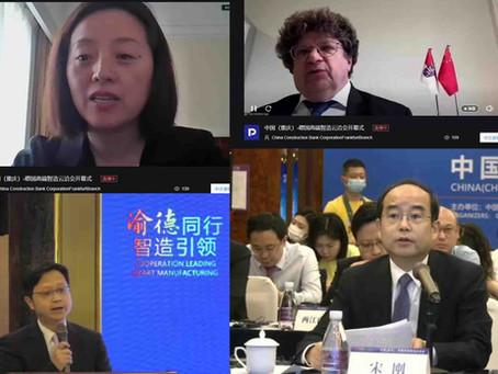 Erfolgreiches Matchmaking von Unternehmen der intelligenten Produktion aus Chongqing und Deutschland