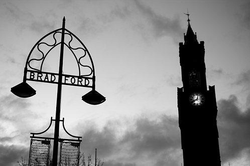 A4 Print - Bradford Town Hall