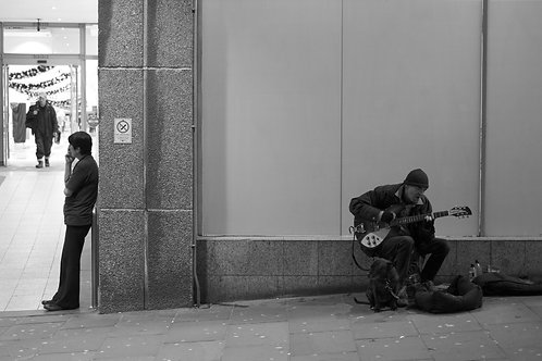 A4 Print - Busker and Smoker