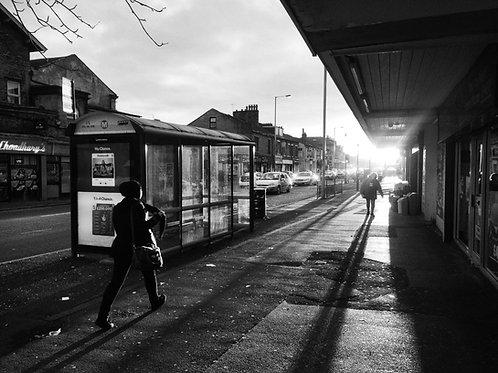A4 Print - Shadows on Duckworth Lane