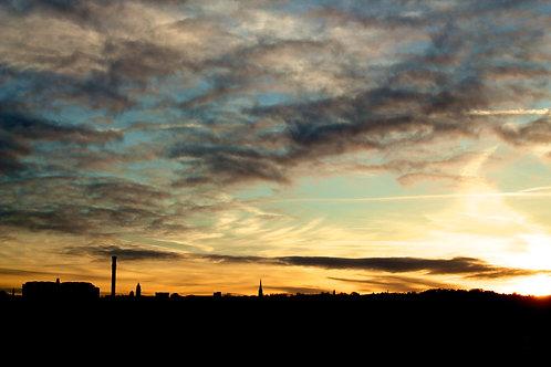 A4 Print - Bradford Sunset