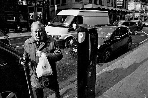 A4 Print - A regular face in Bradford