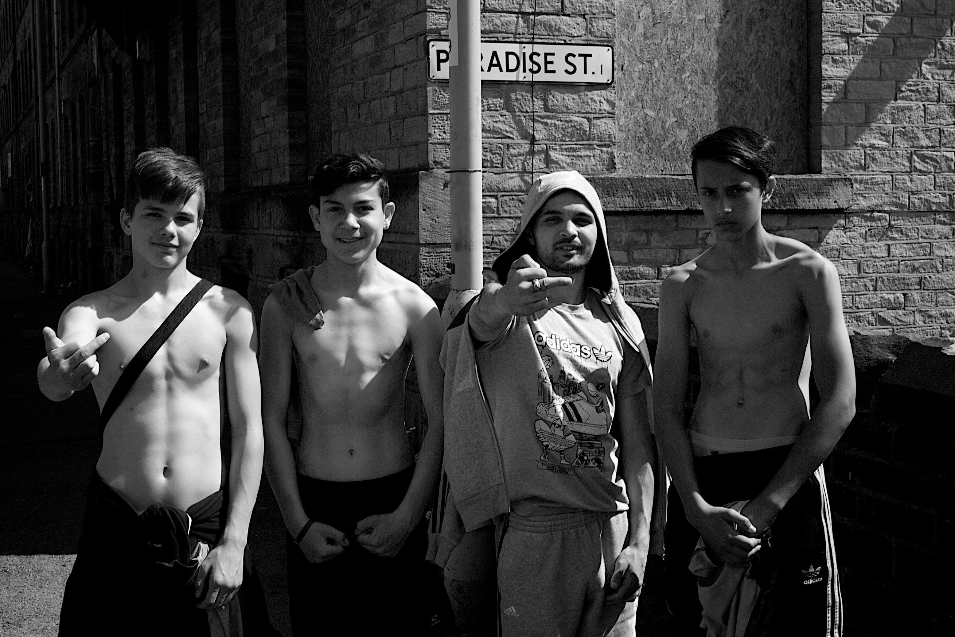 Paradise St. Bradford lads.