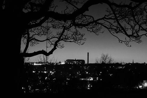 A4 Print - Gothic Bradford Skyline