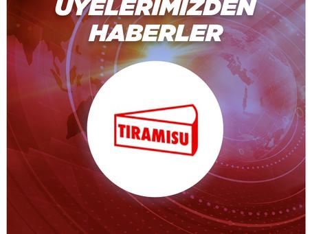 Üye Şirketimiz Tiramisu'dan Yeni Bir Ortaklık Haberi
