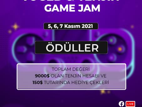 TOGED & TENJIN Ödüllü Game Jam Kayıtları Başladı!