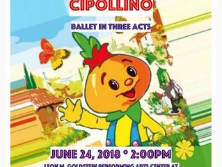 """CIPOLLINO"". Ballet in three acts."