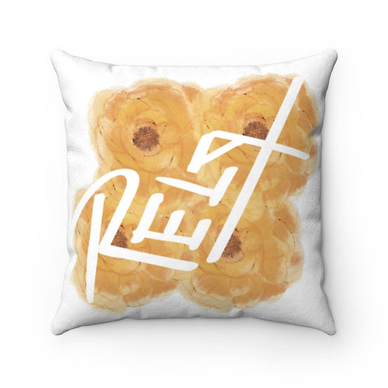 Relax Yourself Pillow - Yellow