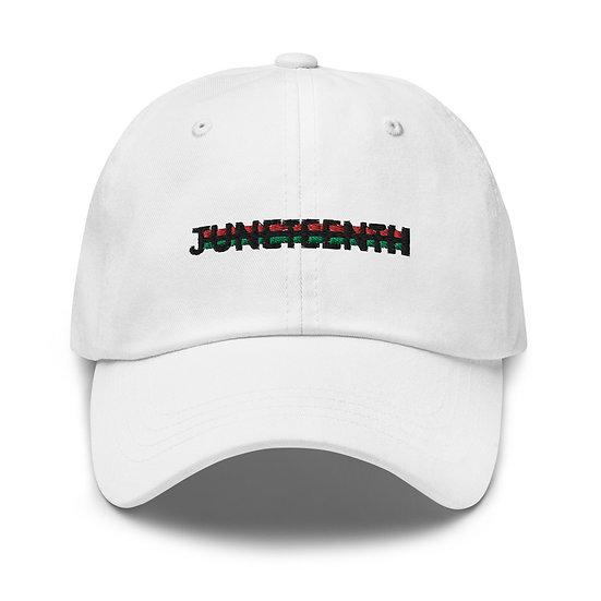 JUNETEETH Hat - White