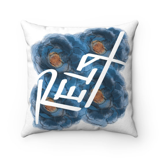 Relax Yourself Pillow - Blue