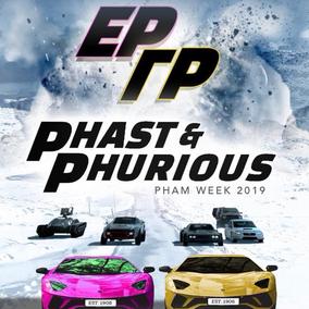 Phast & Phurious Event Flyer