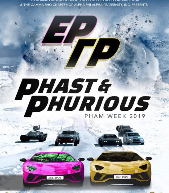 Phast & Phurious Event Flyer
