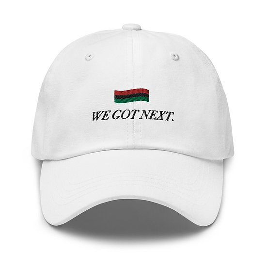 We Got Next Hat - White