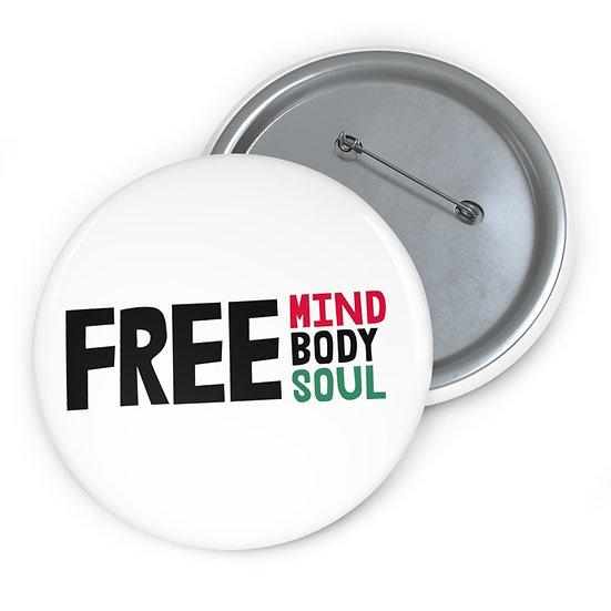 Free Mind, Body, Soul Pin